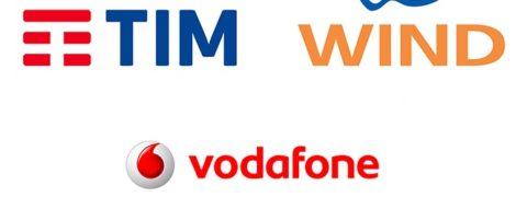 Tim Wind e Vodafone offerte mobile marzo 2019