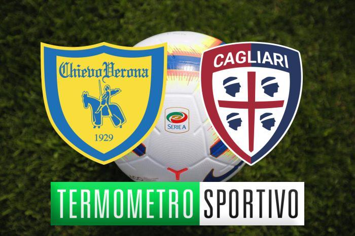 Chievo Cagliari streaming in diretta: dove vederla, no Rojadirecta