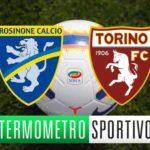 Dove vedere Frosinone-Torino in diretta streaming o tv