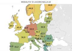 Lavoro in Europa, dove è più pesante e dove più leggero – infografiche