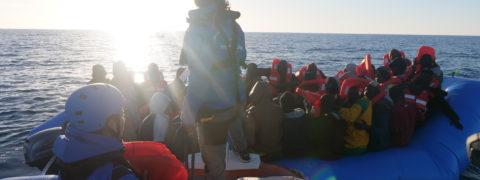 Nave Mare Jonio migranti