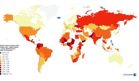 Paesi più sicuri