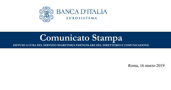 Banca d'Italia, un Segnale Preoccupante