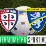 Cagliari-Frosinone: diretta streaming, formazioni e cronaca in tempo reale