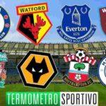Calendario Premier League 2019 partite weekend ed orari