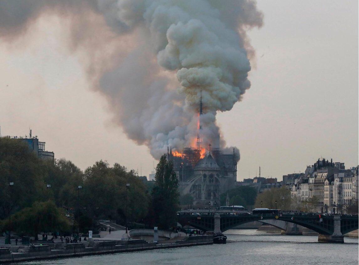 Cattedrale di Notre Dame de Paris cosa resta dopo l'incendio