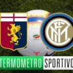 Genoa-Inter dove vederla, formazioni e orario. Le quote