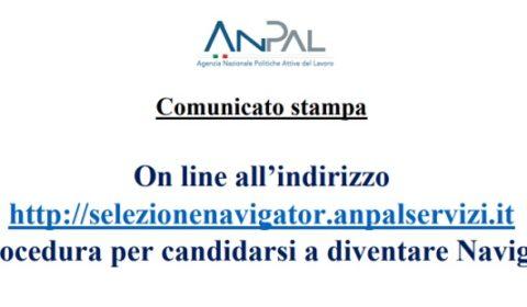 Concorso Navigator 2019 bando Anpal