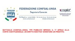 Sentenza TFR dipendenti pubblici |  attesa decisione Corte Costituzionale