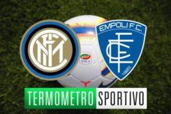 Diretta Inter-Empoli |  streaming |  tv |  formazioni e risultato – FINALE 2-1
