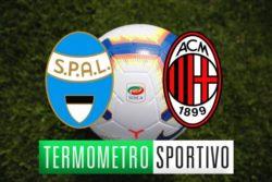 Dove vedere Spal Milan in diretta streaming o in tv
