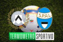 Dove vedere Udinese-Spal in diretta streaming o tv