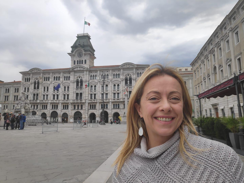 """Giorgia Meloni """"Andiamo in Europa per cambiare tutto"""""""
