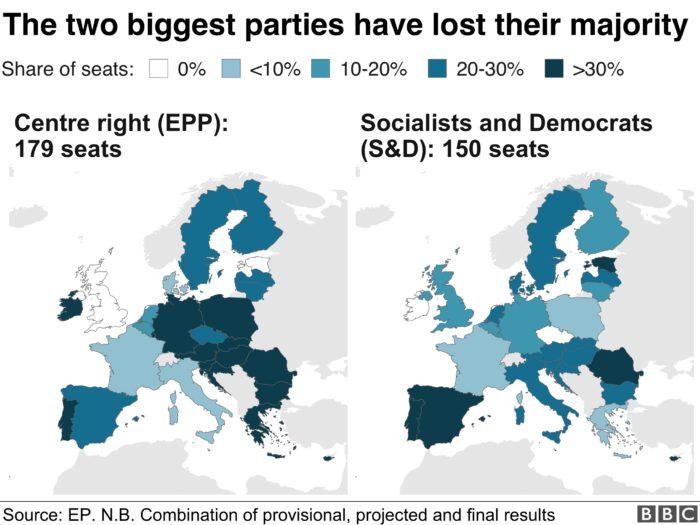 risultati elezioni europee