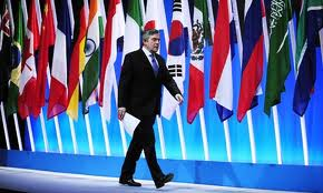 Gordon Brown al G20