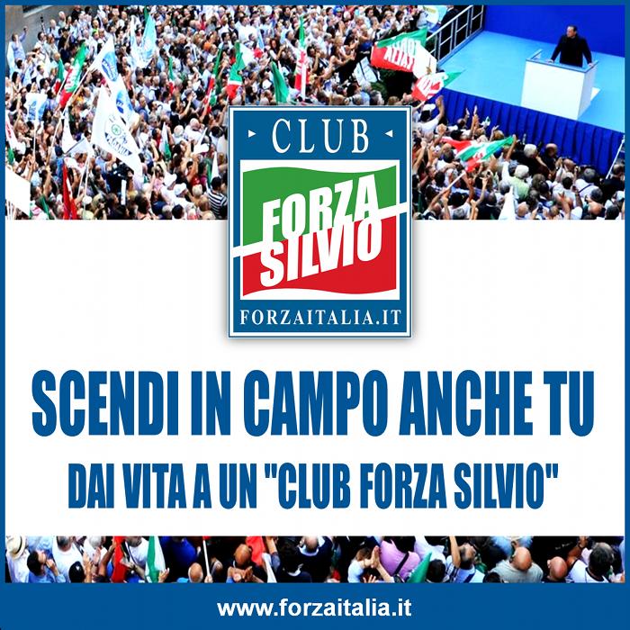 Forza Italia 'Club Forza Silvio' per raccontare Berlusconi