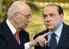 Berlusconi dopo l'uscita di Napolitano