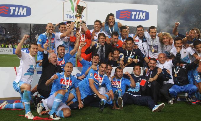 Coppa Italia, decima finale per il Napoli