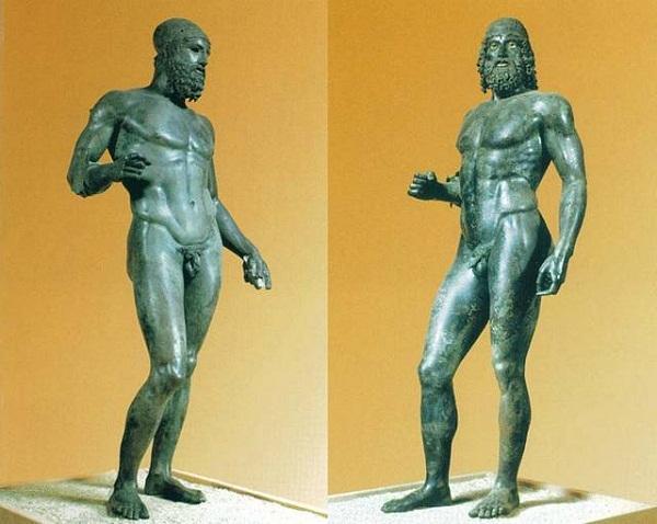Risultati immagini per bronzi di riace