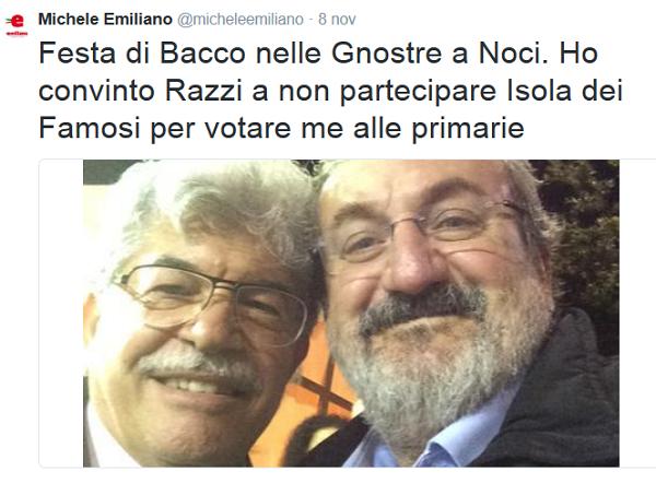 Selfie Emiliano Razzi