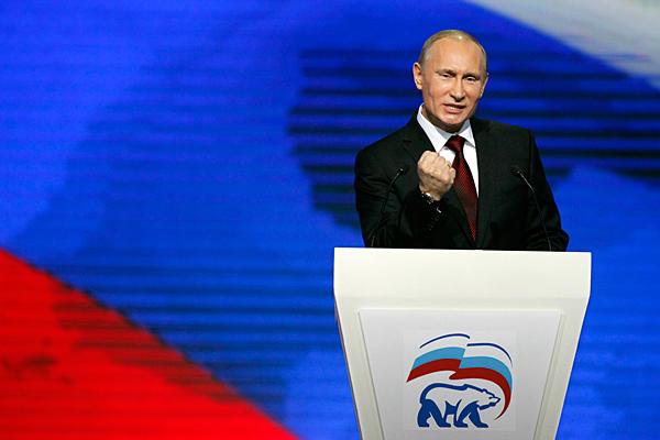 russia ucraina Vladimir putin, a una kermesse del suo partito