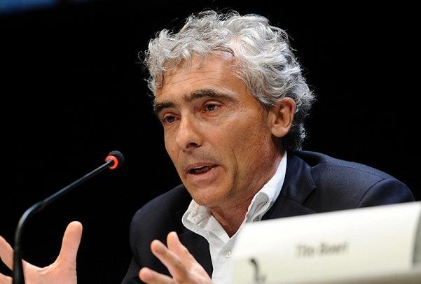 riforma delle pensioni, tito boeri nel corso di un suo intervento durante un convegno