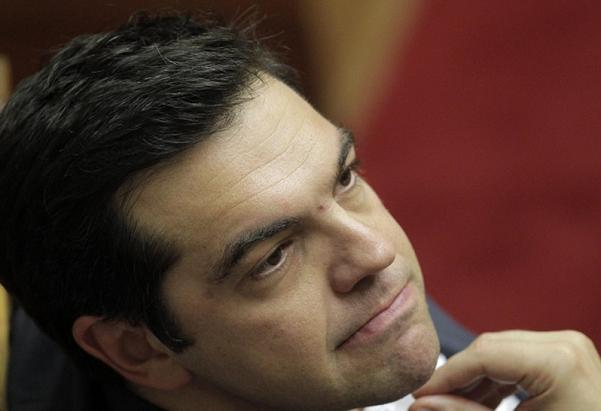 primo piano del premier grecia