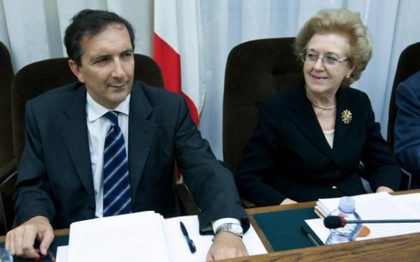 Annamaria Tarantola e Luigi Gubitosi