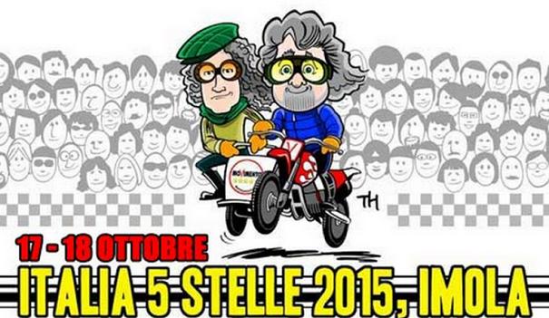 locandina raduno m5s imola italia 5 stelle 2015
