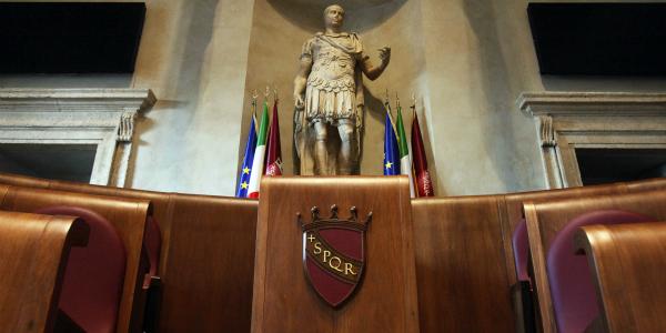 aula giulio cesare a Roma