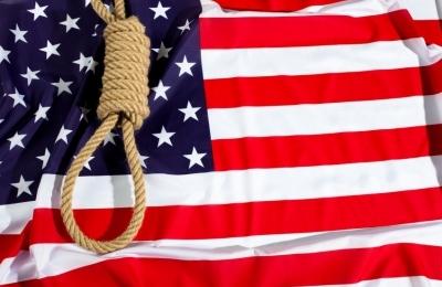 pena di morte, bandiera con cappio