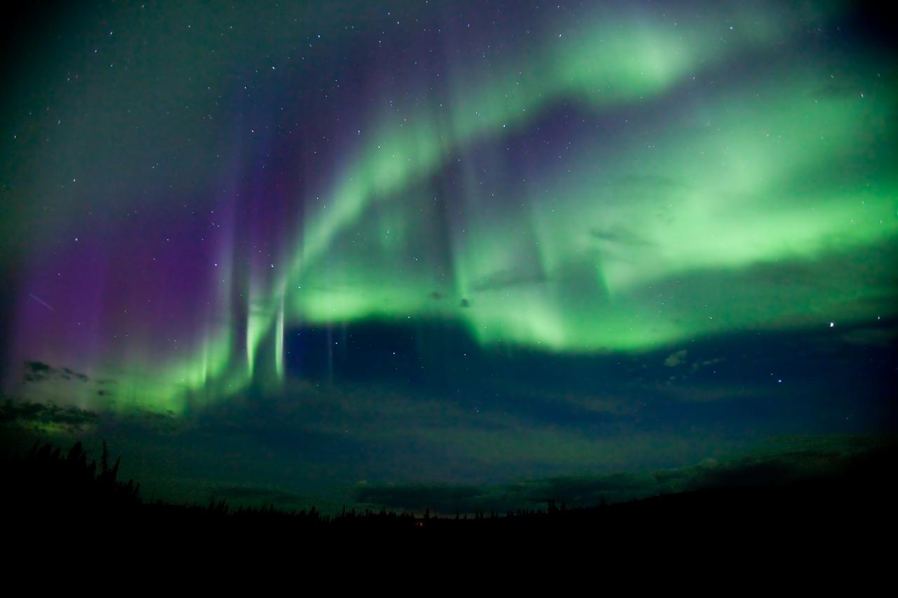 video aurora boreale
