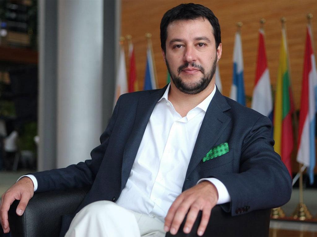 Trump e Salvini salvini, scorta