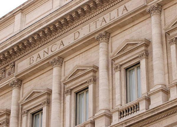 Salvataggio banche, Governo, Bankitalia, immagine della facciata esterna della sede della banca d'itali