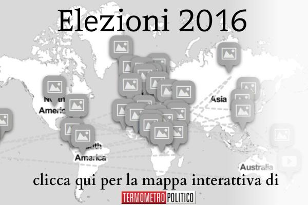elezioni 2016 nel mondo date e risultati