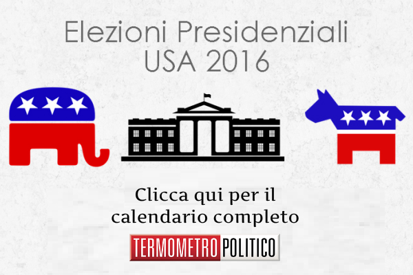 elezioni usa 2016 presidenziali calendario date caucus primarie dibattiti convention