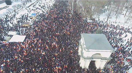 situazione moldavia chisinau proteste