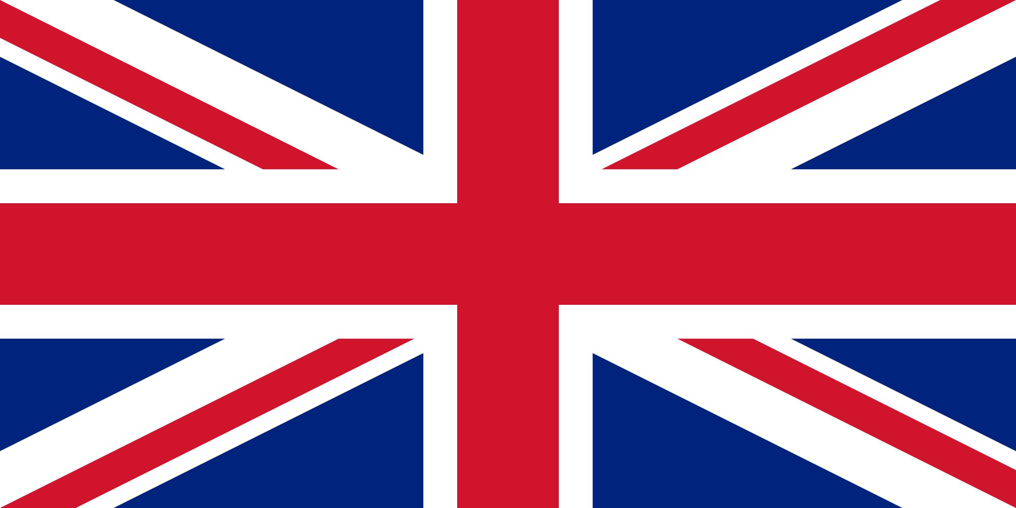 Regno Unito Gran Bretagna Inghilterra Bandiera Union Jack