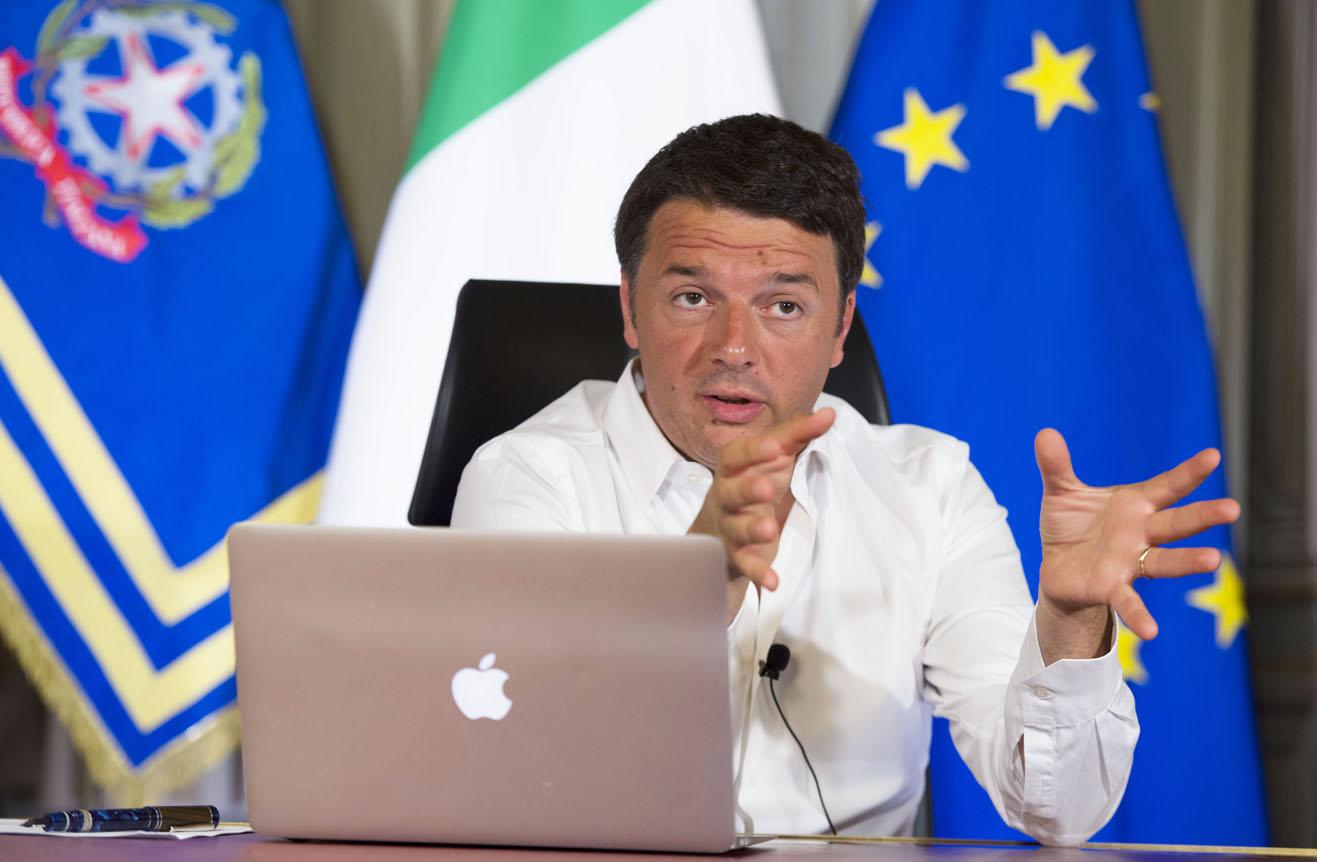 "Renzi risponde sul referendum: ""se vince il No paese ingovernabile"""