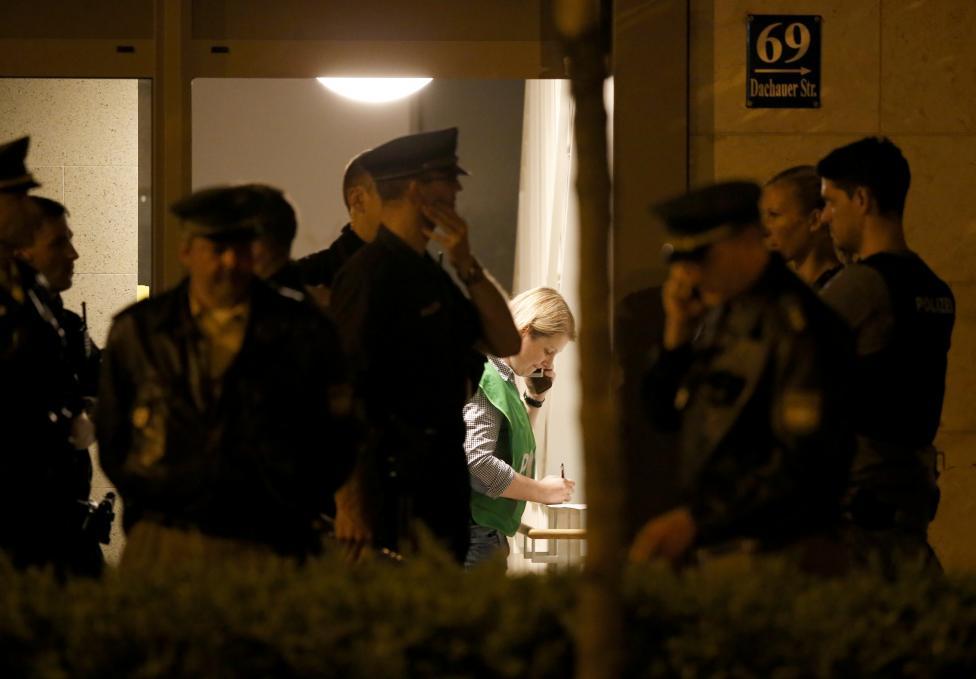 L'attentato a Monaco di Baviera