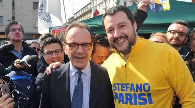 Centrodestra, Parisi, Salvini