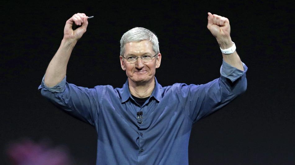 apple-tim cook iphone 2018