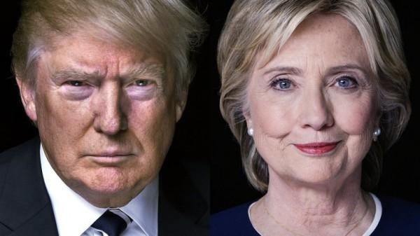 elezioni usa, trump, clinton