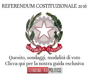 referendum costituzionale 2016 data sondaggi intenzioni di voto risultati la nostra guida