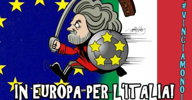beppe grillo-europa-alleanza alde-movimento 5 stelle