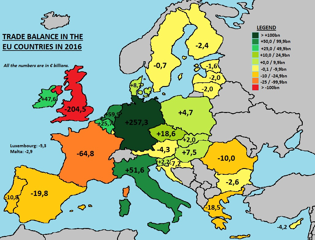 mappe unione europea