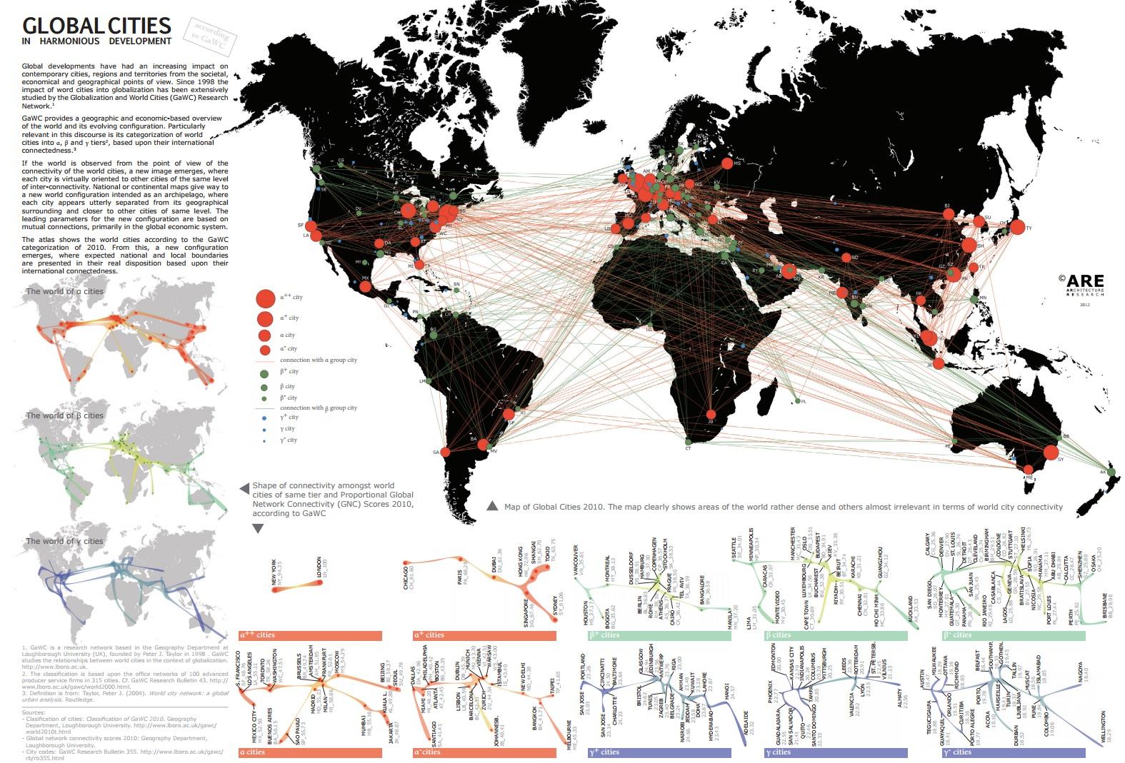mappe città globali
