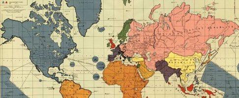 Cartina Mondo Seconda Guerra Mondiale.Mappe Interessanti Come Sarebbe Potuto Essere Il Mondo Dopo La Seconda Guerra Mondiale