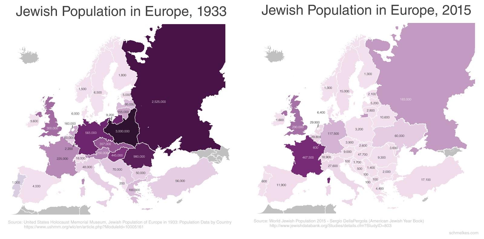 mappe, continente europeo in colori diversi