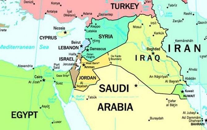Cartina Mondo Siria.Notizie Dal Mondo Il Medioriente Spiegato Con 3 Fatti
